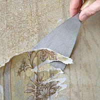 Ako odstrániť tapety a lepidlo po tapetách zo sakrokartónu aj panelu