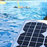 Aký ohrev bazéna? Solárny alebo elektrický svojpomocne