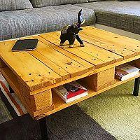 Ako vyrobiť konferenčný alebo jedálenský stolík z paliet