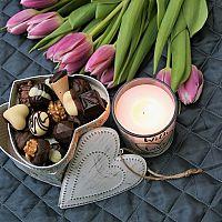 Valentínska výzdoba bývania