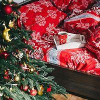 Obliečky s vianočným motívom dotvoria atmosféru Vianoc