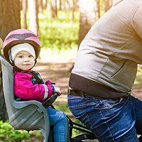 Ako vybrať detskú sedačku na bicykel?