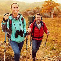 Najlepšie teleskopické trekingové palice a palice pre Nordic walking