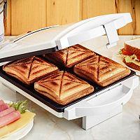 Ako vybrať sendvičovač? Obľúbené sú 3 v 1 modely či toastovač na 4 toasty