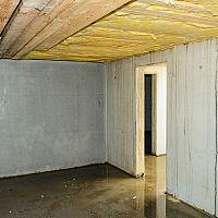 Ako vysušiť zatopenú pivnicu v dome?
