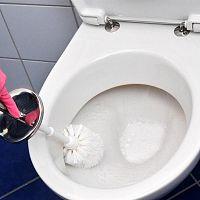 Ako odstrániť vodný kameň z WC?