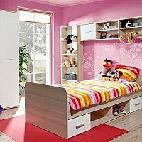 Kvalitné detské postele pre chlapcov i dievčatá
