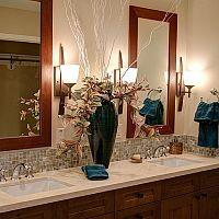 Drevený nábytok do kúpeľne