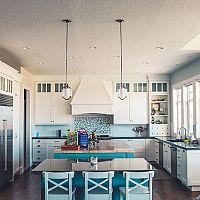 Moderné kuchyne do tvaru U