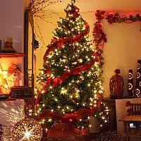 Rozžiarte bývanie vianočnými svetielkami