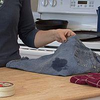 Ako odstrániť olejové škvrny z oblečenia