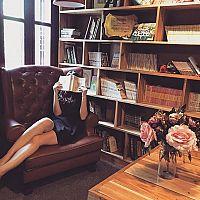 Dizajnové knižnice do obývačky