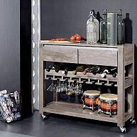 Servírovací stolík – minibar do vášho príbytku