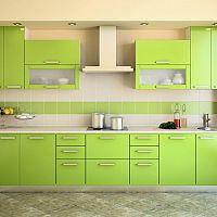 Zelená kuchyňa - oživte svoju kuchyňu farbami prírody