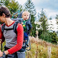 Ako vybrať najlepší detský turistický nosič? Hlavne ergonomický, čo má dobré recenzie
