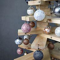 Najkrajšie alternatívne vianočné stromčeky