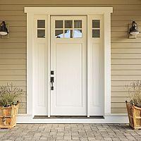 Aké vstupné dvere do domu alebo bytu? Na výber máte hliníkové, plastové, drevené, ich cena sa líši
