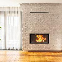 Umiestnenie krbu v dome a v byte: krb v obývačke, rohový krb alebo murovaný krb v interiéri