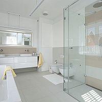 Sklenený sprchový kút s vaničkou/bez vaničky vs vaňa: výhody, nevýhody