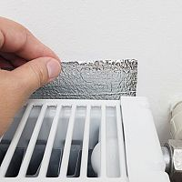 Tepelnoizolačná fólia za radiátor – recenzie, skúsenosti, montáž. Čím ju zatepliť?