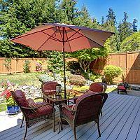 Ako si vybrať záhradný slnečník – rozmery (4 x 4, 5 m), konštrukcia, cena
