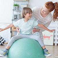 Fitlopta na sedenie do kancelárie, pre tehotné aj na cvičenie. Vyberajte veľkosť podľa výšky