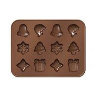 Formičky na čokoládu Delícia Choco – vianočné motívy