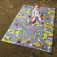 Vopi Detský koberec City life, 140 x 200 cm