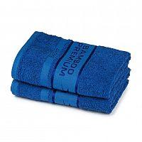 4Home Bamboo Premium uterák modrá, 50 x 100 cm, sada 2 ks