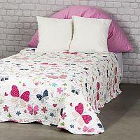 4Home Detský prehoz na posteľ Butterfly, 140 x 200 cm