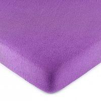 4Home jersey prestieradlo fialová, 180 x 200 cm