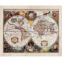 AG Art Fototapeta XXL Stará mapa 360 x 270 cm, 4 diely