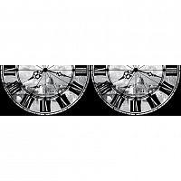 AG Art Samolepiaca bordúra Rímske hodiny, 500 x 14 cm
