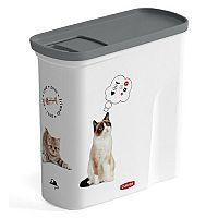 CURVER kontajner na suché krmivo 1,5kg mačka (04346-L30)