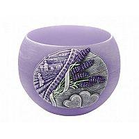 Dekoratívna sviečka Lavender Kiss lampion