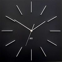 Future Time FT1010BK Square black 40cm
