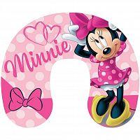 Jerry Fabrics Cestovný vankúšik Minnie pink, 40 x 40 cm