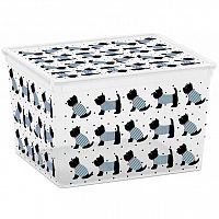 KIS C Box Style CUBE, Cute Animals, 27l