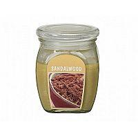 Sviečka v skle Santalové drevo, 430 g