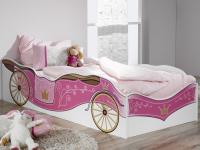 Detská posteľ Kate 90x200, kráĺovský koč