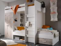 Dvojposchodová úložná posteľ Maxi