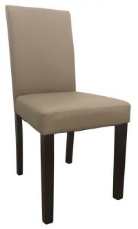 Jedálenská stolička Rudy, cappuccino ekokoža