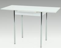 Jedálenský stôl Bonn II 75x55 cm, biely