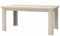 Jedálenský stôl Kashmir T40, 160x90 cm, rozkladací