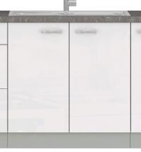 Kuchynská drezová skrinka Bianka 80ZL, 80 cm
