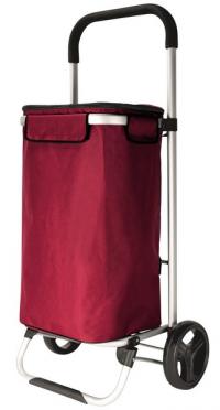 Nákupná taška na kolieskach Trolley, červená