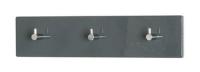 Nástenný vešiak Edmond 42156, šedý lesk