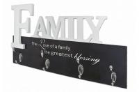 Nástenný vešiakový panel Family 28307