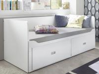 Rozkladcia posteľ so zásuvkami Bergen 80x200 cm