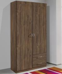 Šatníková skriňa Case, 91 cm, dub stirling